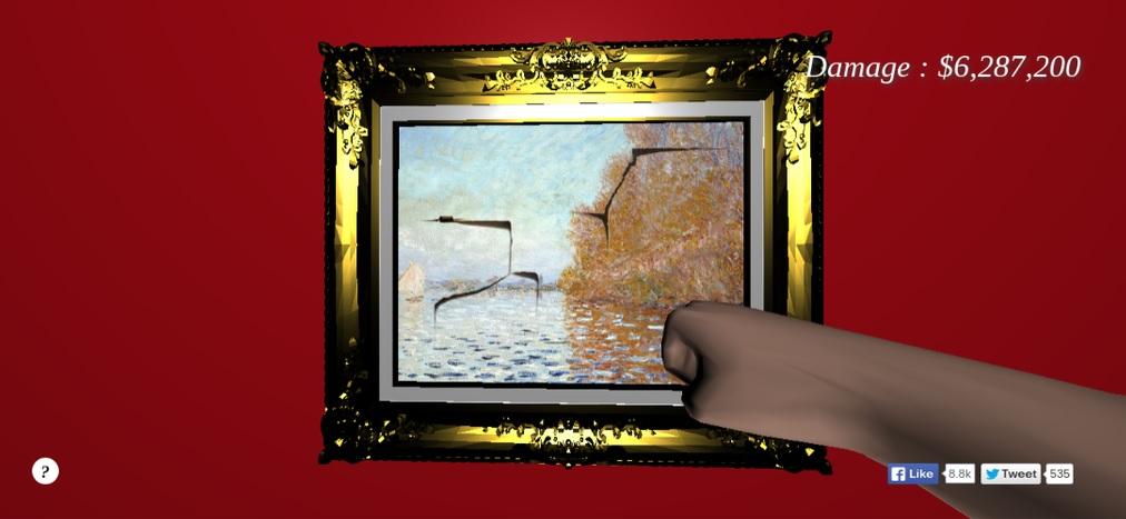 Punch a Monet
