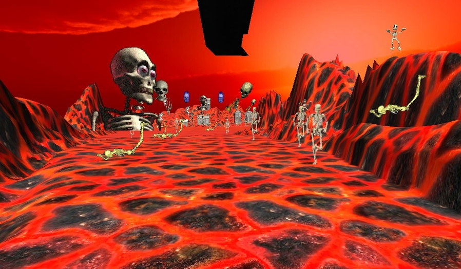 Peaceful Skeleton Realm: ABH