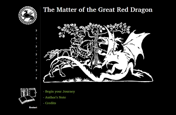 The Matter of the Great Red Dragon (Jonas Kyratzes)