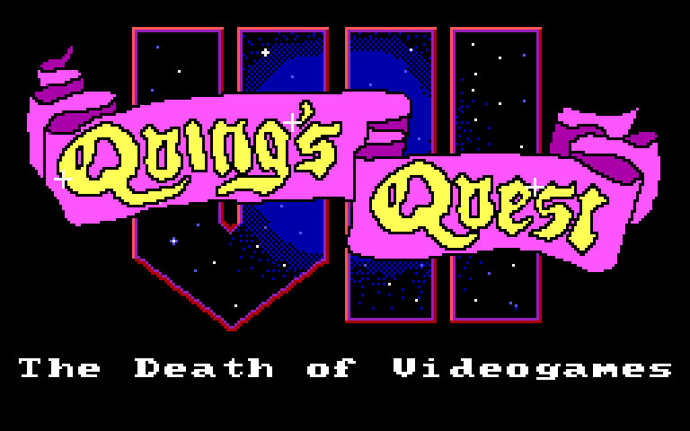 Quing's Quest VII: The Death of Videogames!