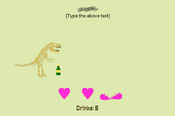 Dinosaur Gets REALLY Drunk