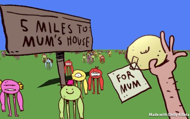 5 MILES TO MUM'S HOUSE