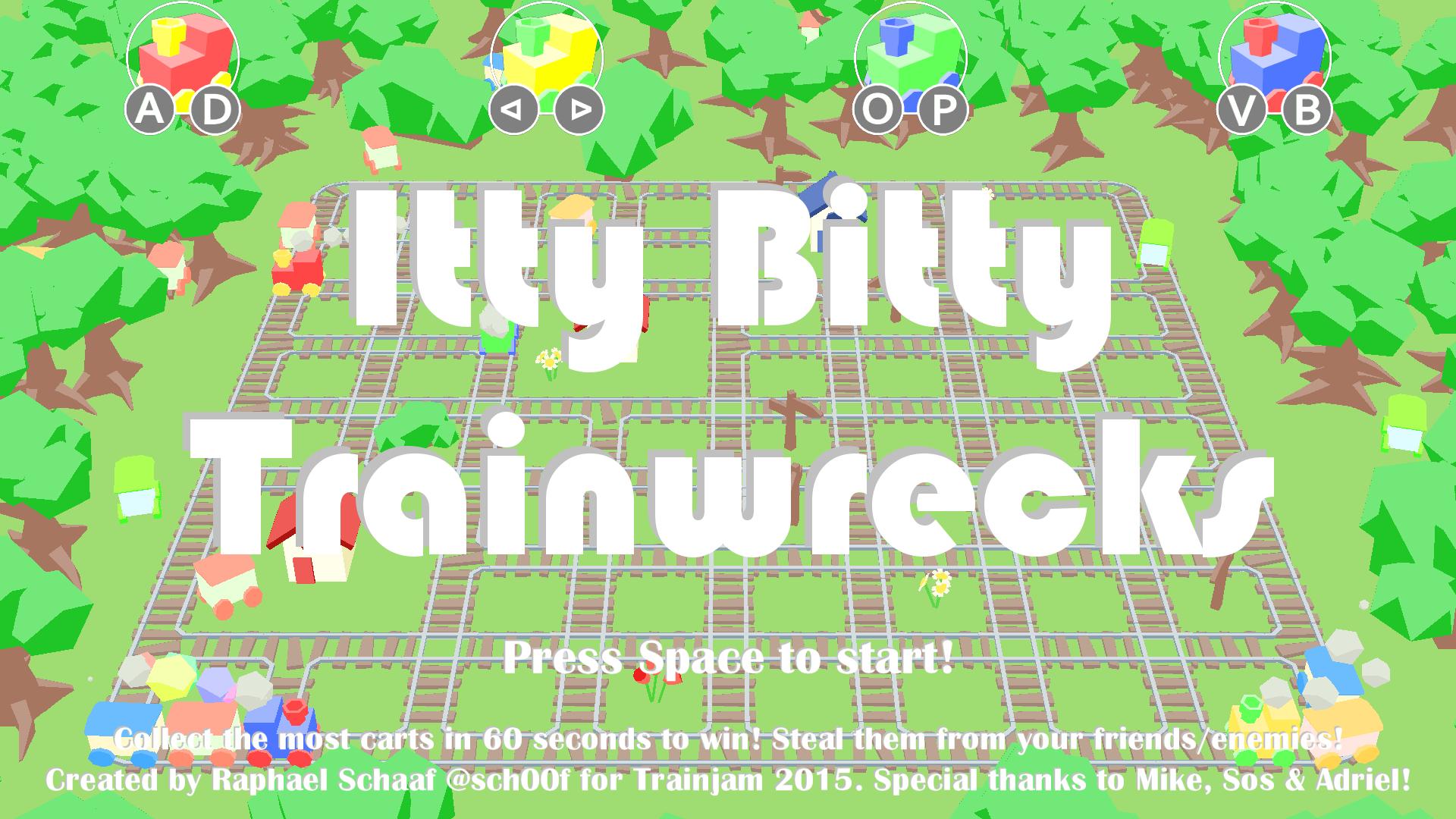 Itty Bitty Trainwrecks
