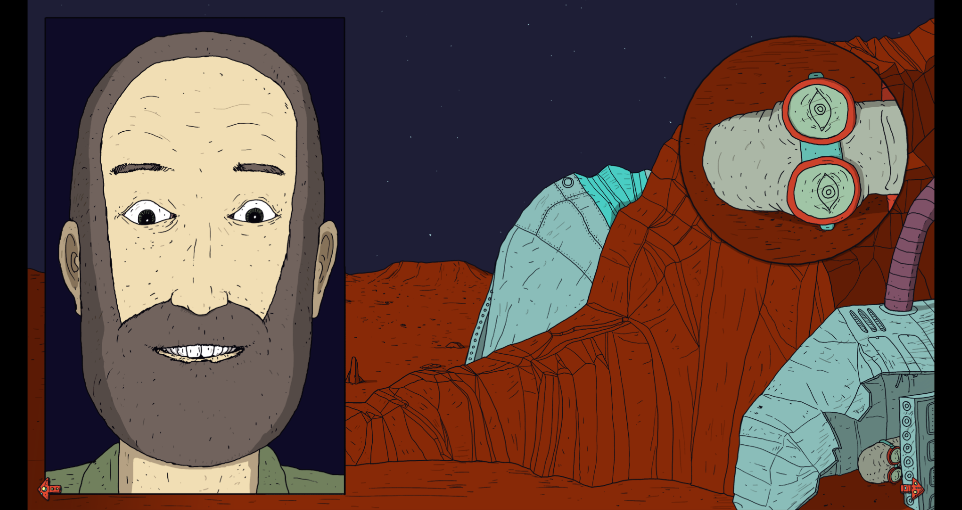 Sam: An Interactive Comic
