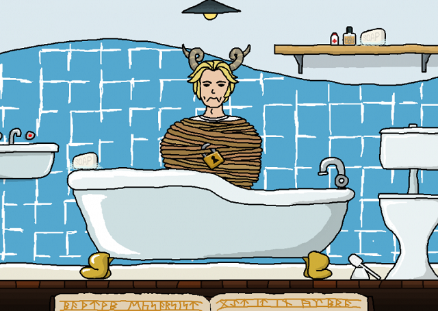 Bathtime Exorcist