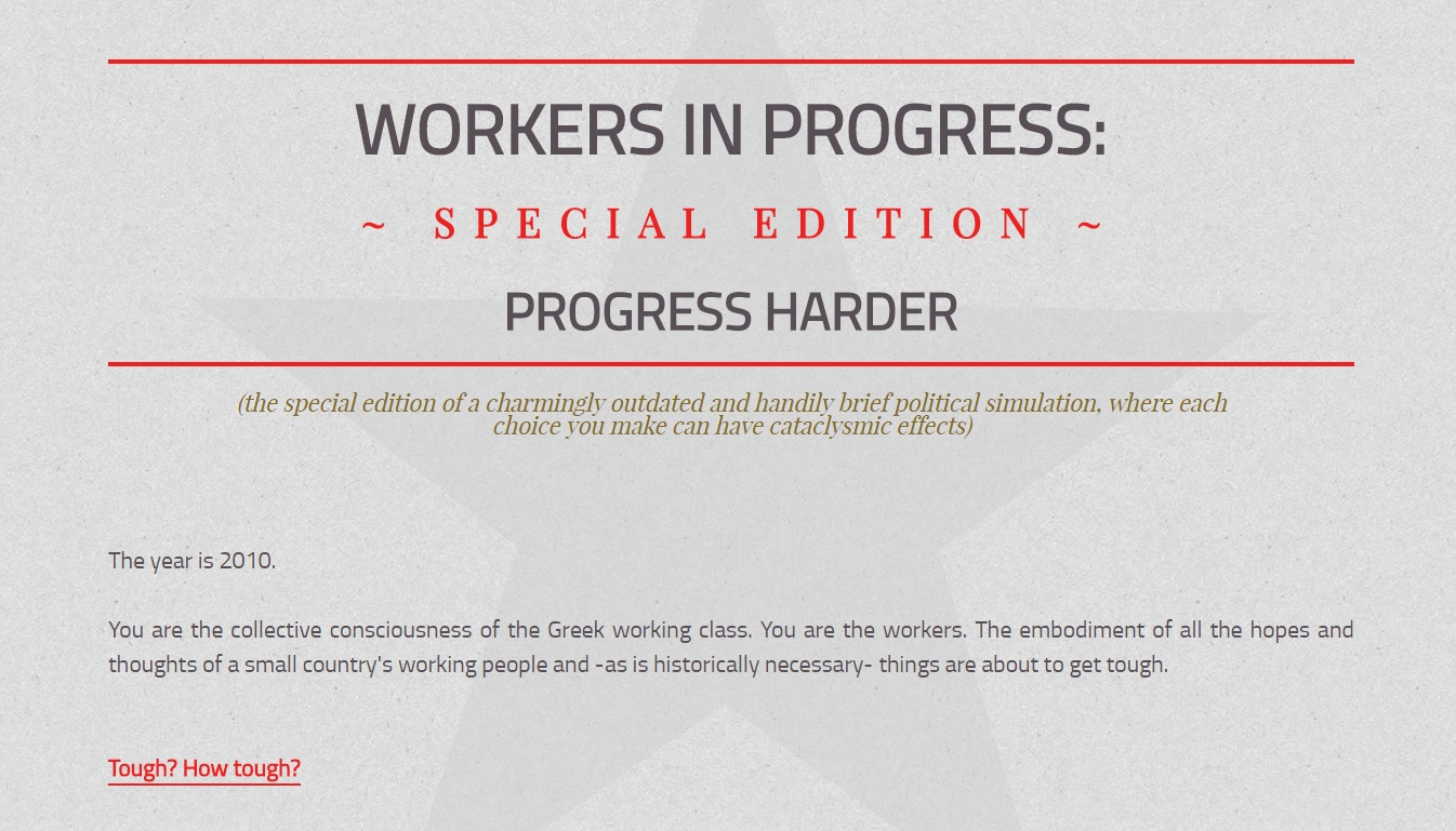 Workers In Progress: Special Edition - Progress Harder