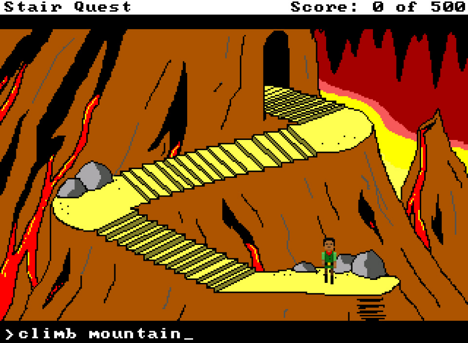 Stair Quest (No More For Today)