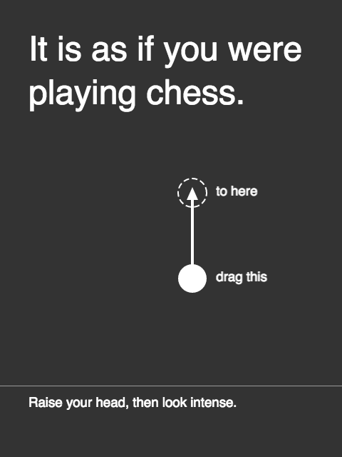 It is as if you were playing chess (Pippin Barr)