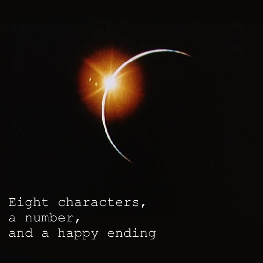 Eight characters, a number, and a happy ending (K.G. Orphanides)