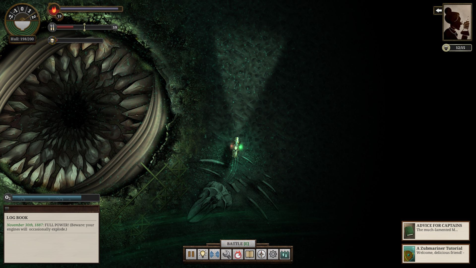 Sunless Sea: Zubmariner (Failbetter Games)