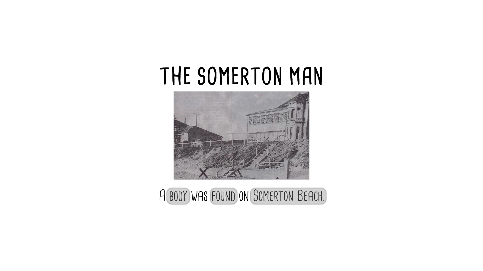 The Somerton Man