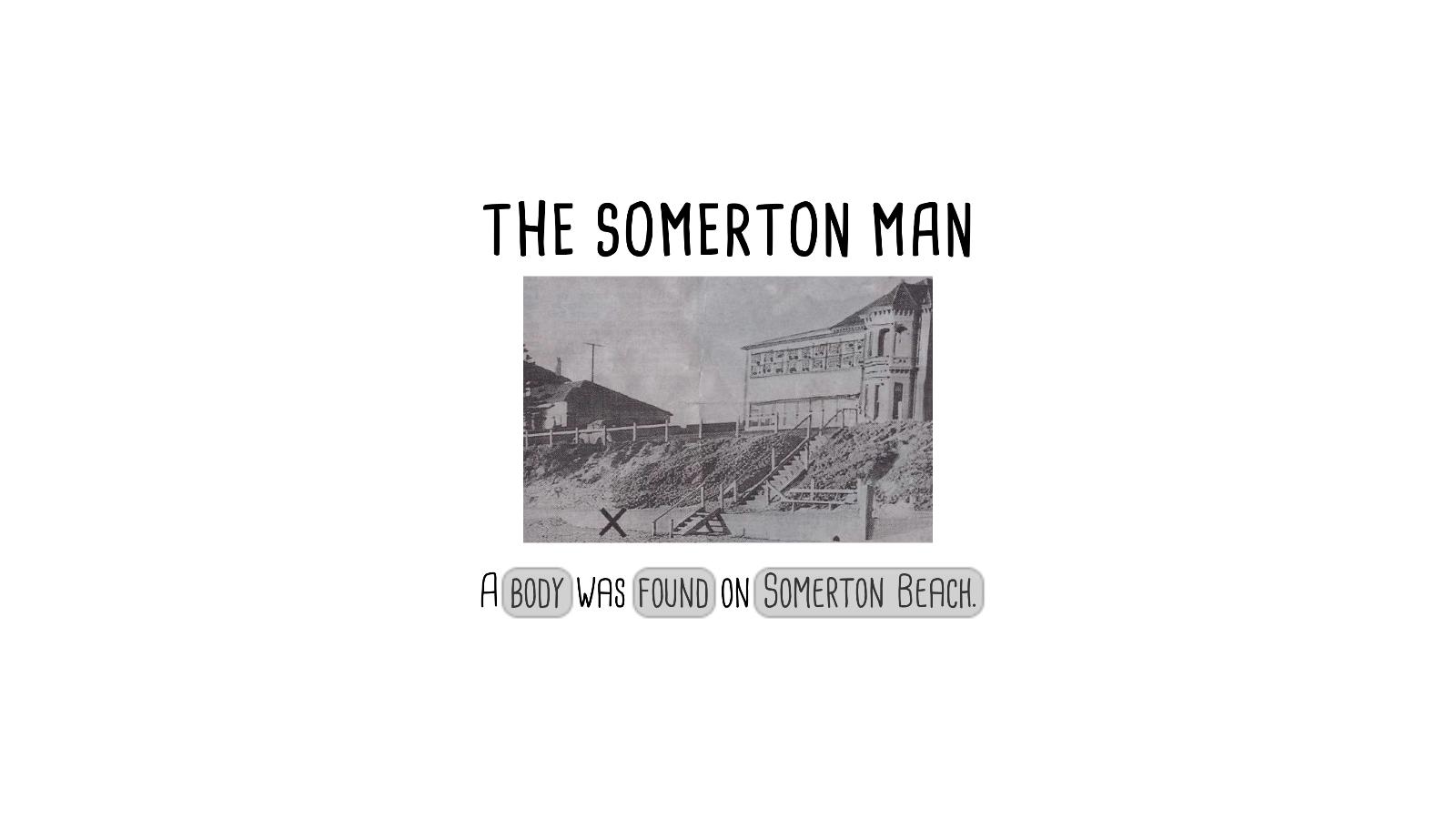 The Somerton Man