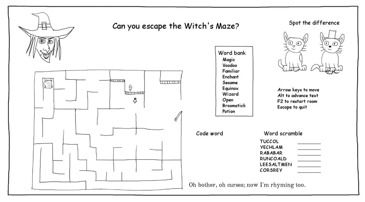 The Witch's Maze (Tom Sykes)