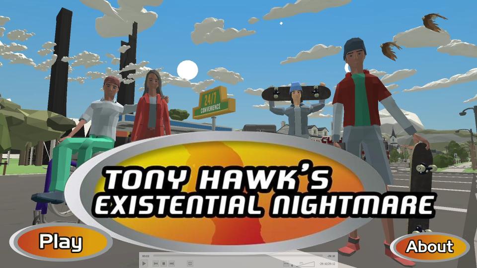 Tony Hawk's Existential Nightmare